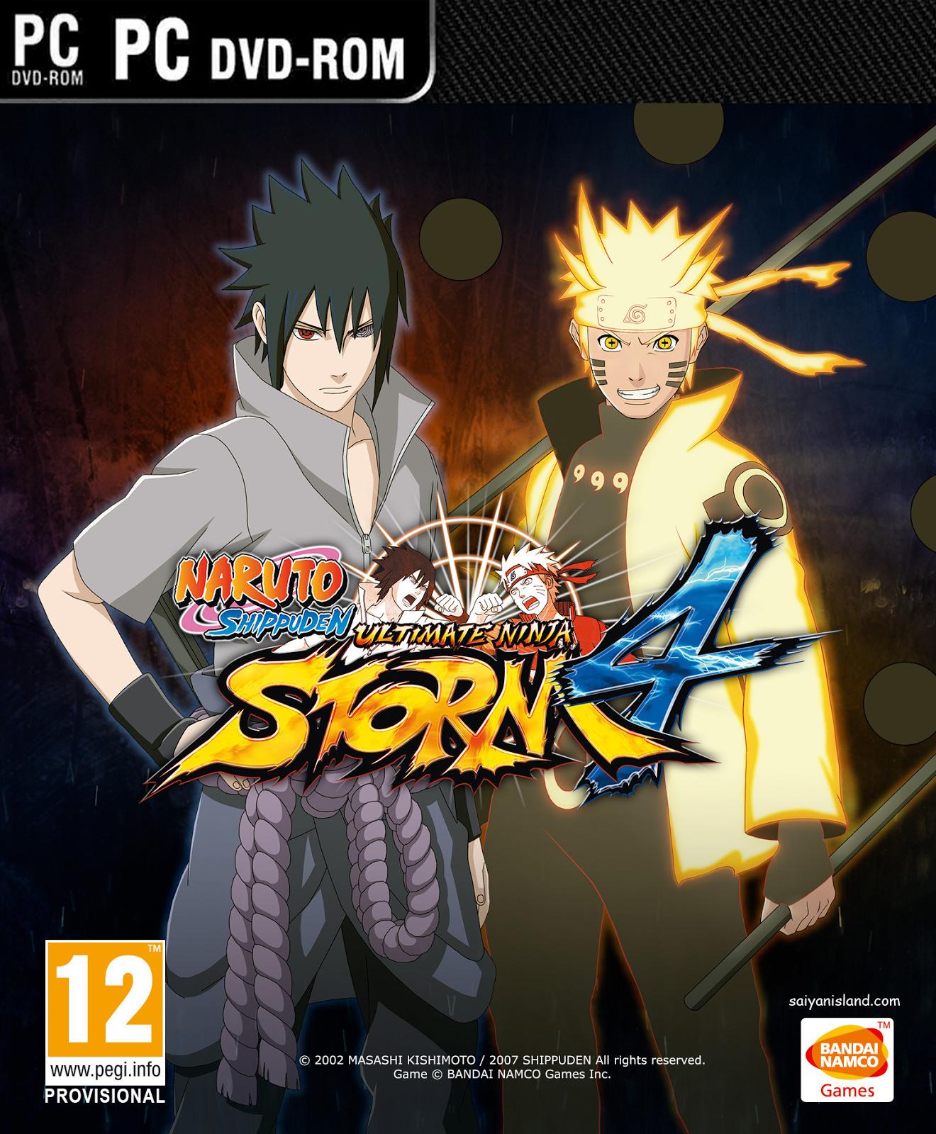 Download Game Naruto Shippuden Ultimate Ninja Storm 4